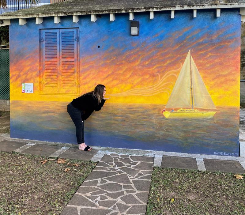 Katie Ewles Bermuda Jan 2021