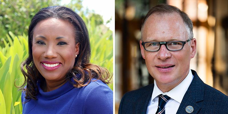 Lorene Phillips & Philip Sykes Bermuda Jan 2021
