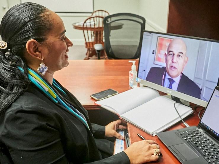 Minister Tinee Furbert Bermuda Jan 2021