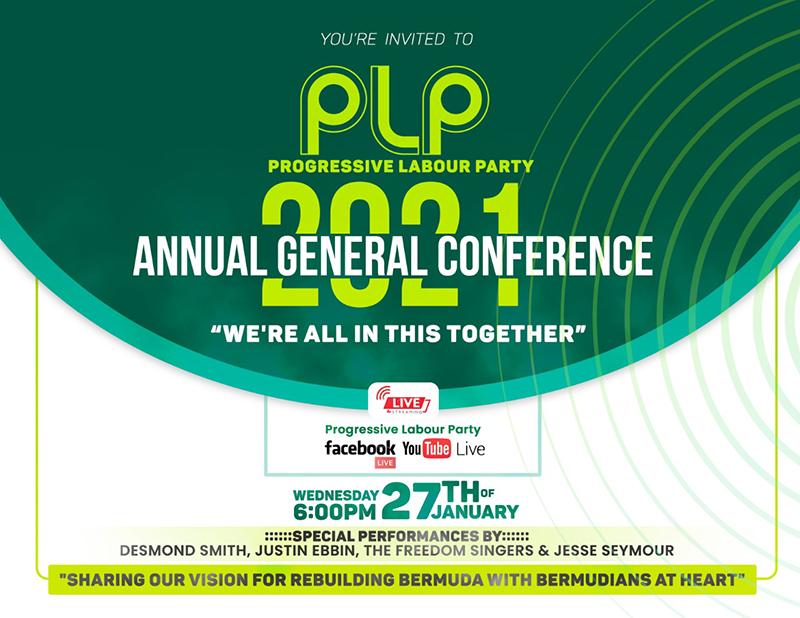 PLP AGC Bermuda Jan 26 2021