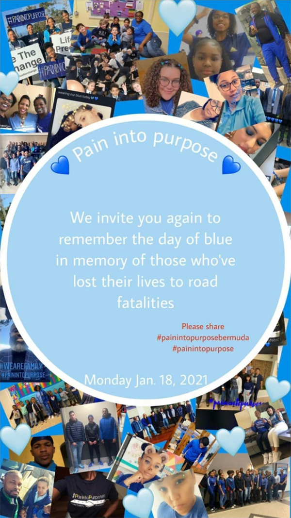 Paint into Purpose Bermuda Jan 17 2021