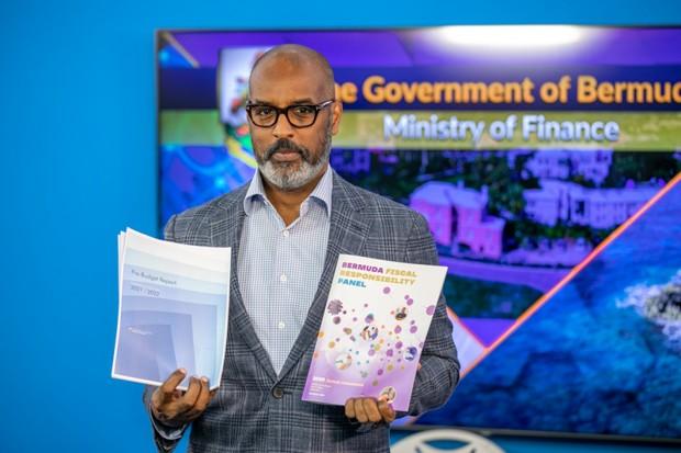Pre Budget Report 2021-2022 Bermuda Jan 19 2021