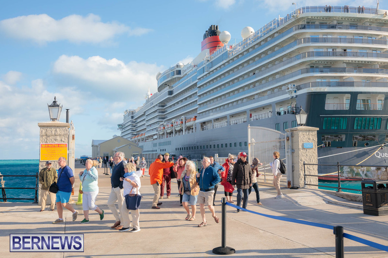 Queen Victoria cruise ship in Bermuda January 2020 (4)