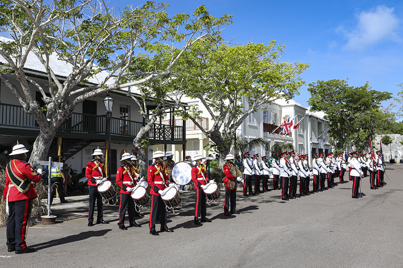 Royal Bermuda Regiment Convening of Parliament