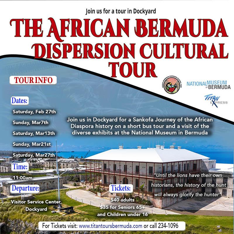 Titan Express African Bermuda Dispersion Cultural Tour Jan 2021