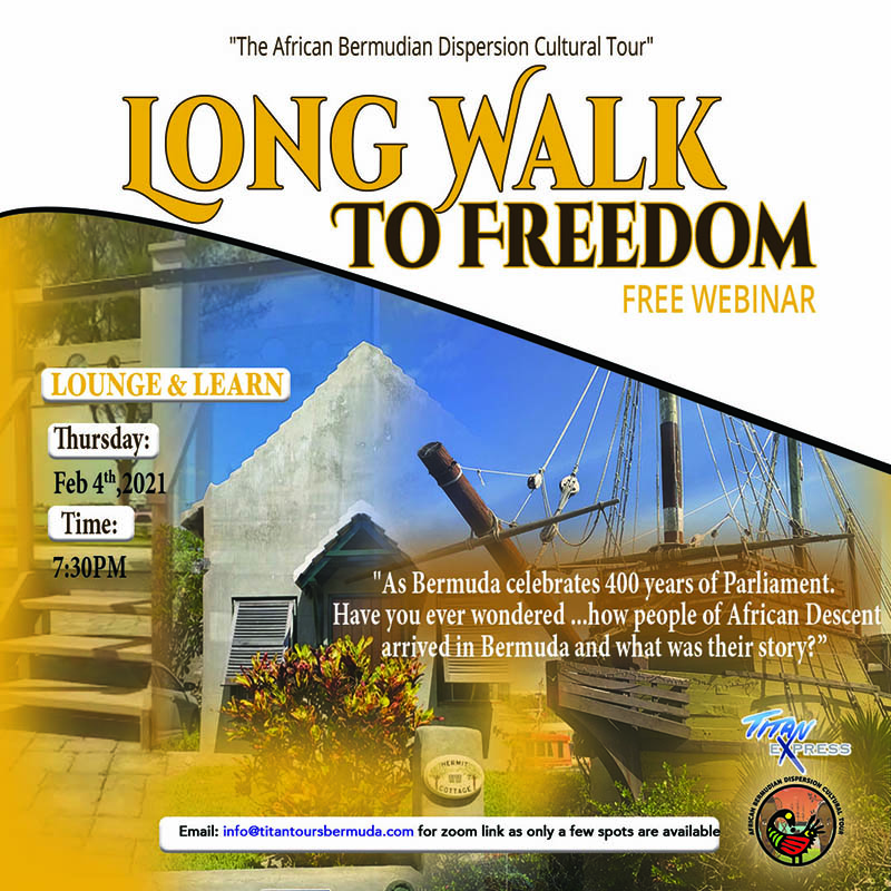 Titan Express Long Walk To Freedom Bermuda Jan 2021