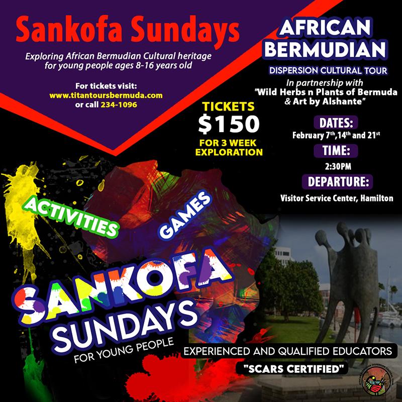Titan Express Sankofa Sundays Bermuda Jan 2021