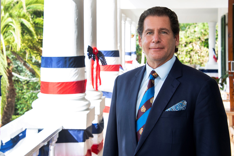 US Consul General Lee Rizzuto Bermuda Jan 2021