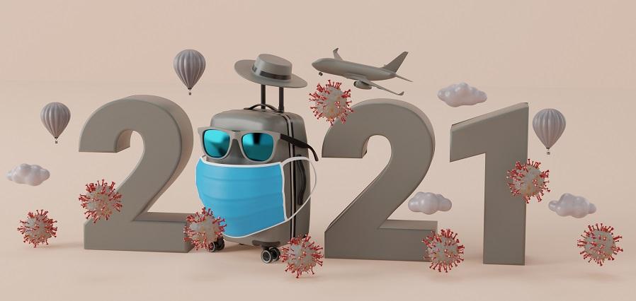 suitcase-with-coronavirus-2019-ncov-mask