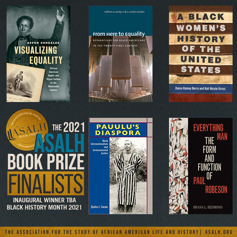 ASALH Book Prize Finalists Bermuda Feb 2021