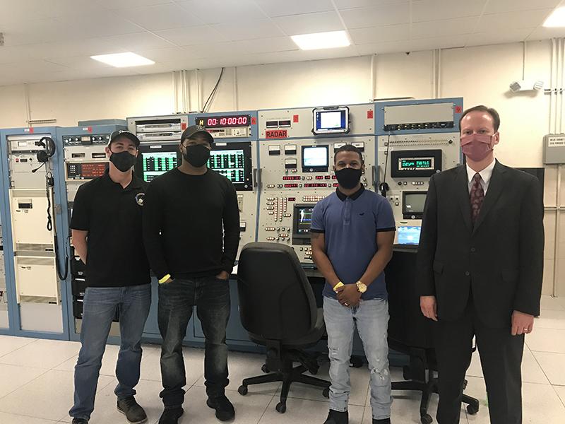 Alan Purcell Visits NASA Tracking Station  Bermuda Feb 2021 1