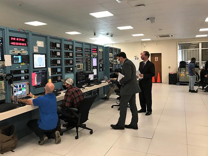 Alan Purcell Visits NASA Tracking Station  Bermuda Feb 2021 2