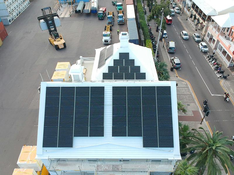 BAE Solar Installation Bermuda Feb 2021