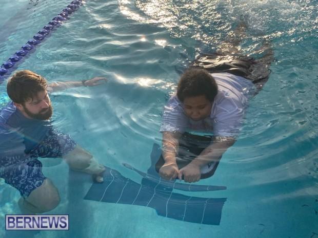 Bermuda Special Olympics swimming training Feb 2021 (1)