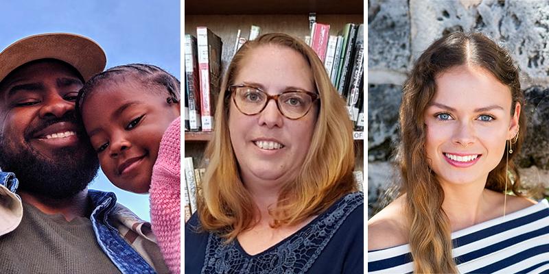 Cushi Ming, Sara Westhead, Ashley Aitken Bermuda Feb 2021
