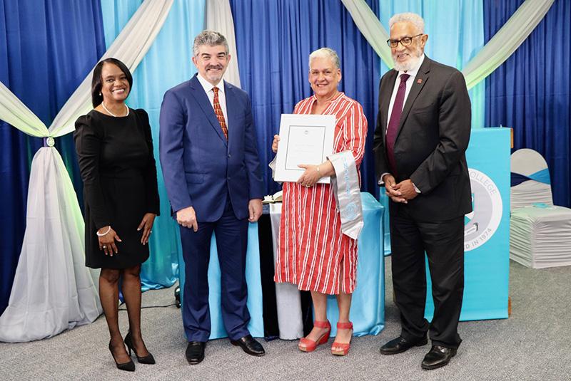 Dr Greene, Sousa, Anderson and Horton Bermuda Feb 2021