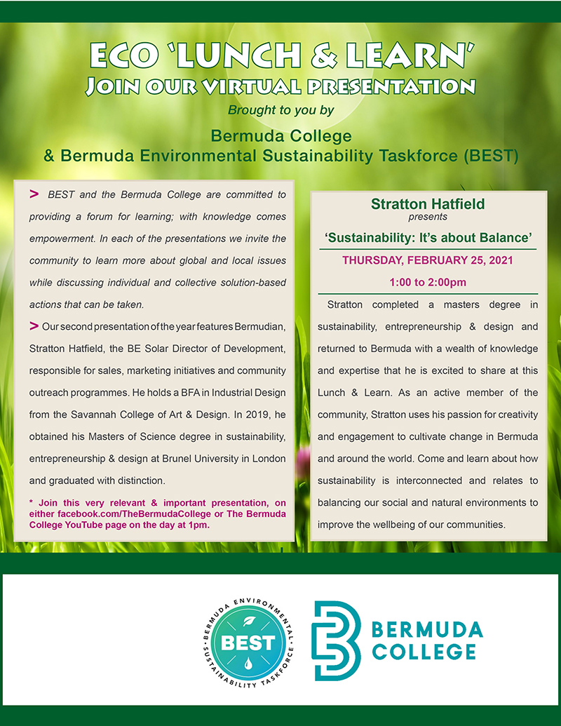 ECO Lunch & Learn Bermuda Feb 2021