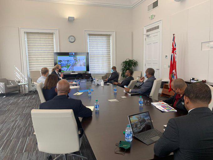 Economic Empowerment Zone Meeting Bermuda Feb 2021