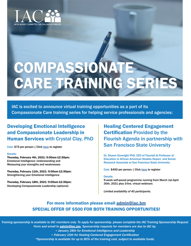 IAC Compassionate Care Training Series Bermuda Feb 2021