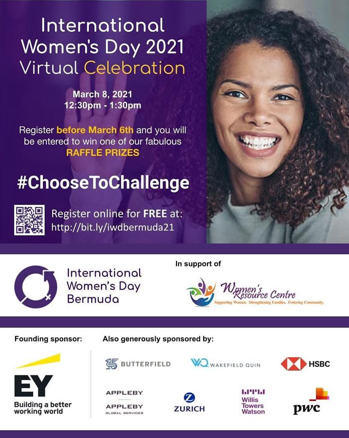 International Women's Day Bermuda Feb 2021