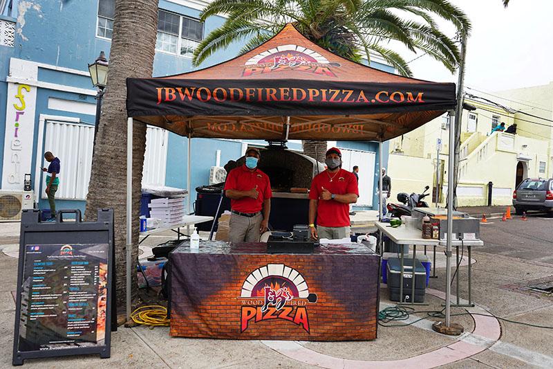 J&B's Wood Fired Pizza Bermuda Feb 2021 1