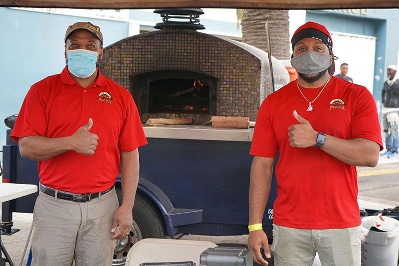 J&B's Wood Fired Pizza Bermuda Feb 2021 2