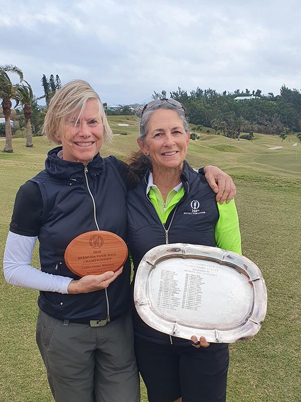 Katrin Burnie & Linda Down Bermuda Feb 7 2021