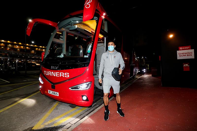 Nahki Wells Arriving For The Match Bermuda Feb 2021