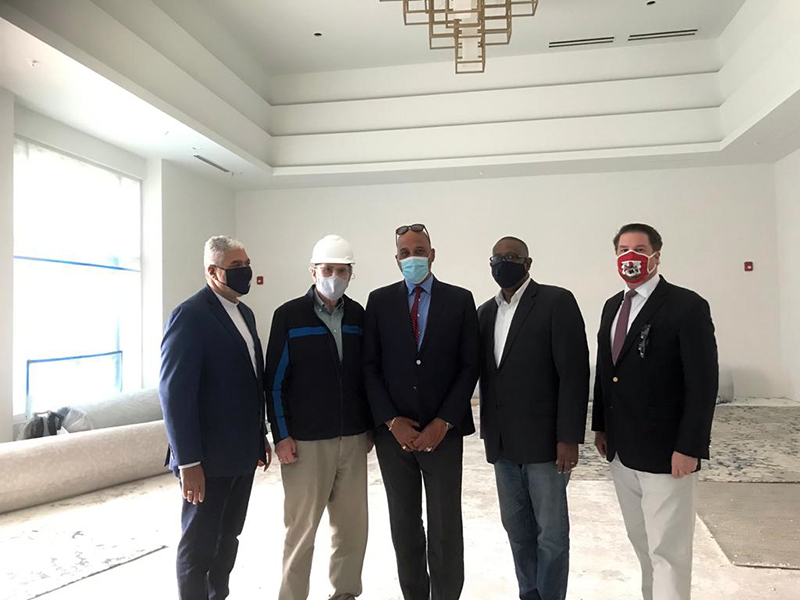 OBA Commends Owners Of Hotel Co & St Regis Bermuda Feb 2021