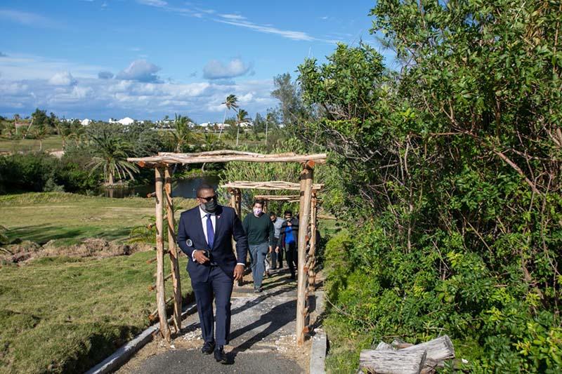 Riddell's Bay Conservation Area Bermuda Feb 2021 1