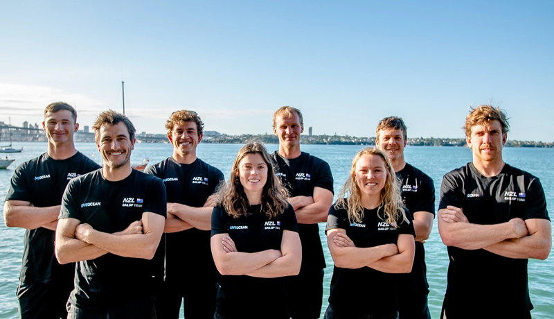 SailGP NZL Team February 2021