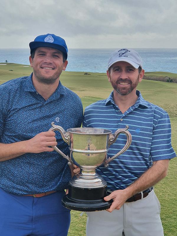 Teddy Terceira & Fraser Hunt Bermuda Feb 7 2021