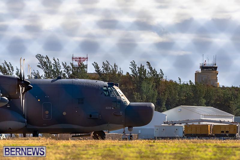 USAF Visiting C-130s Bermuda Feb 7 2021 (1)