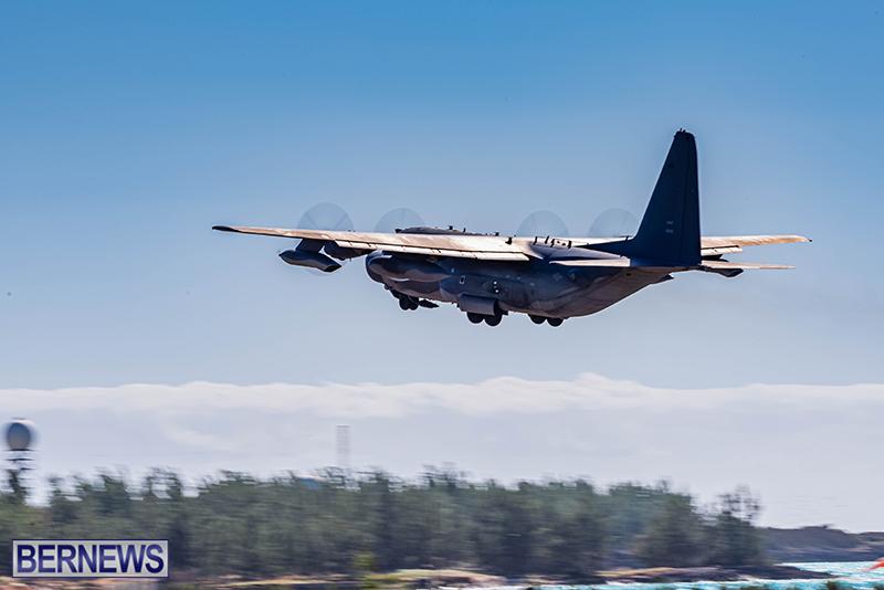 USAF Visiting C-130s Bermuda Feb 7 2021 (3)