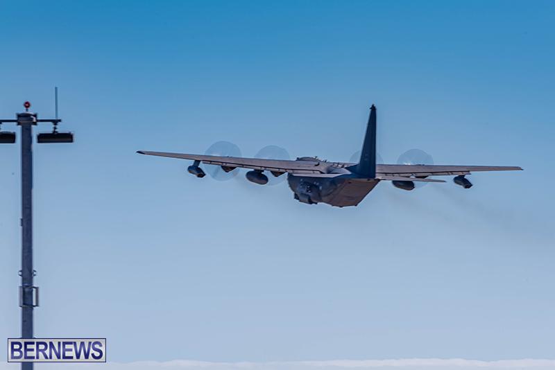 USAF Visiting C-130s Bermuda Feb 7 2021 (4)
