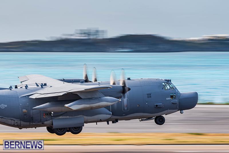 USAF Visiting C-130s Bermuda Feb 7 2021 (5)