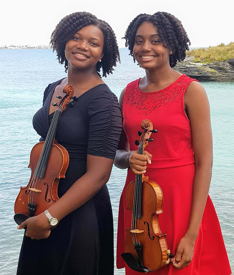 Violine Sisters Bermuda Feb 2021
