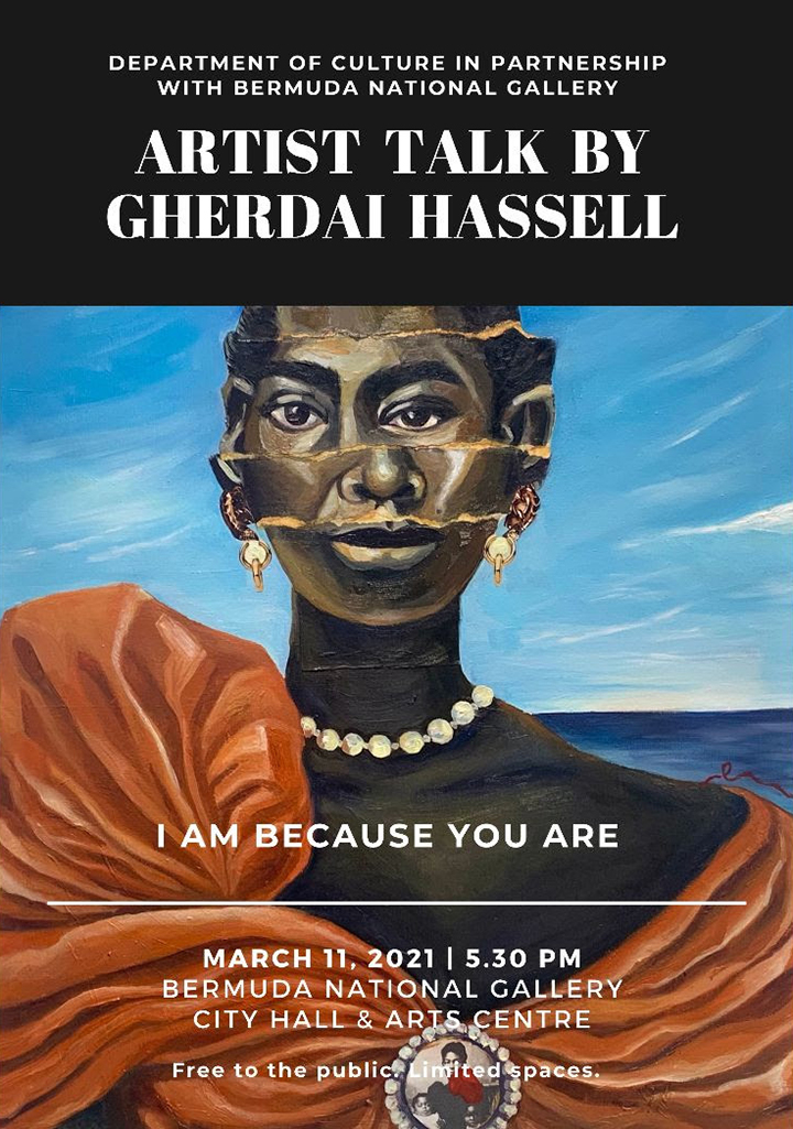 Artist Talk With Gherdai Hassell Bermuda March 2021