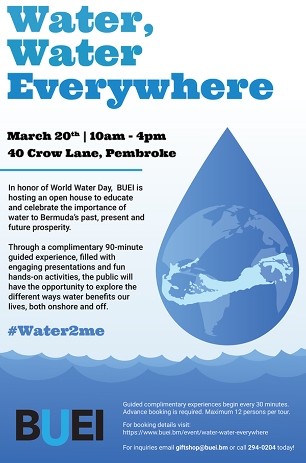 BUEI To Celebrate World Water Day March 2021