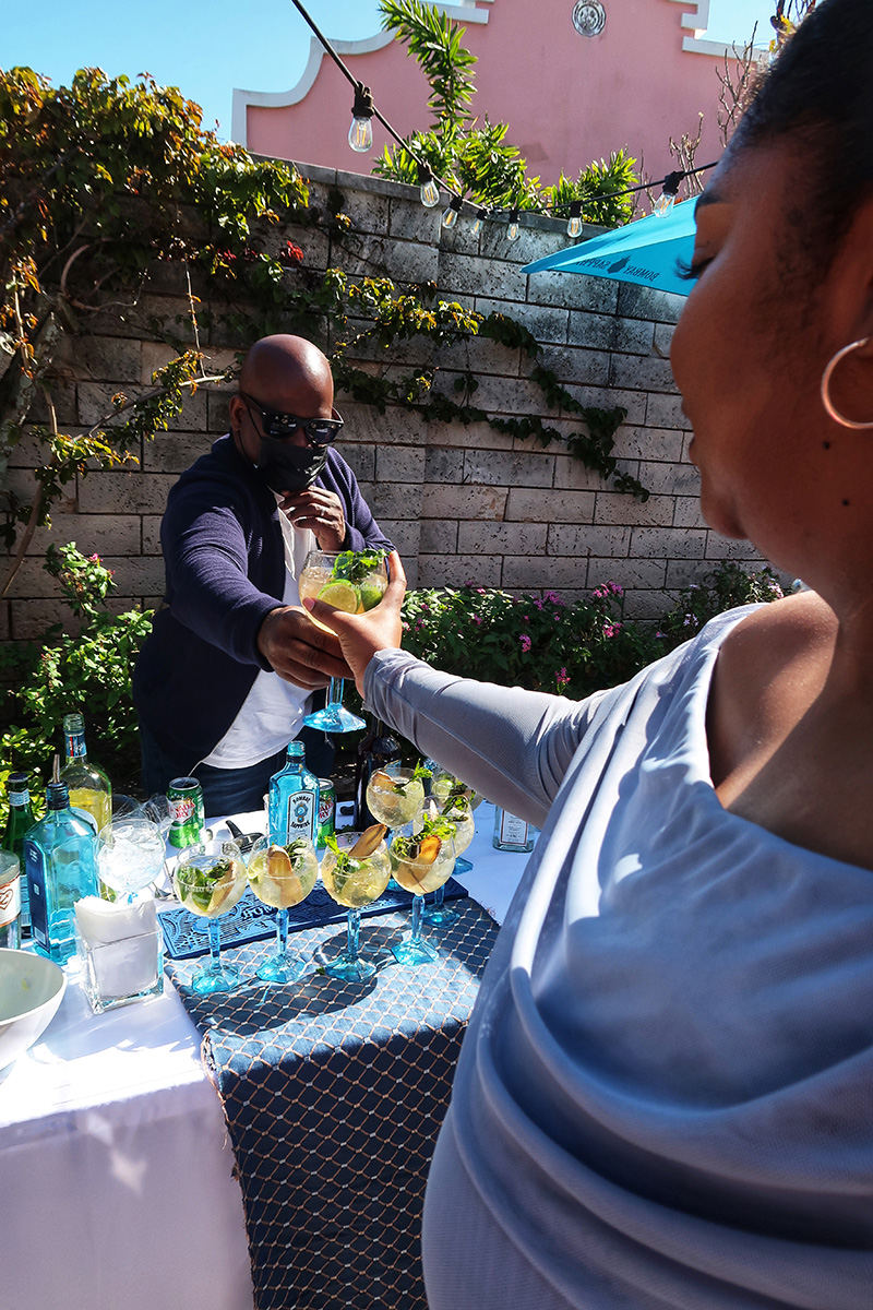 Bacardi Partners With Local Influencers Bermuda March 2021 3