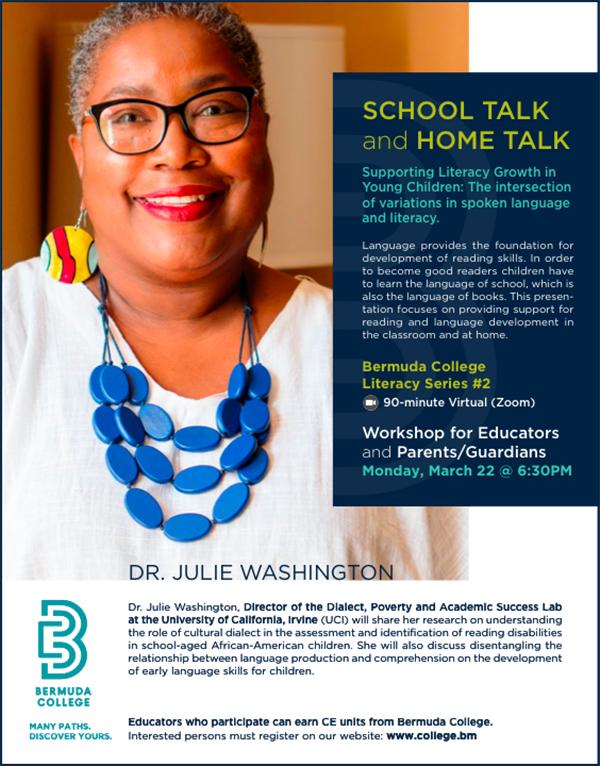 Bermuda College Literacy Workshop March 2021