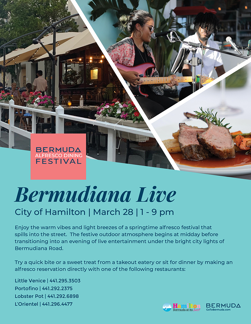 Bermudiana Live March 2021