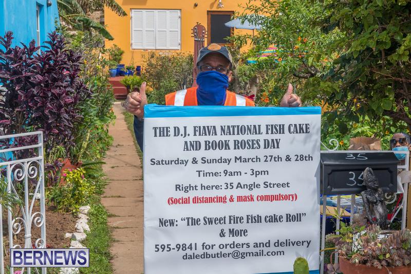 DJ Flava Fishcakes Bermuda March 2021 1