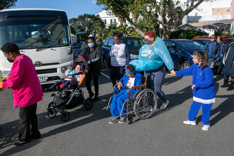 Dame Marjorie Bean Hope Academy Students Visit Cabinet Bermuda March 2021 (1)