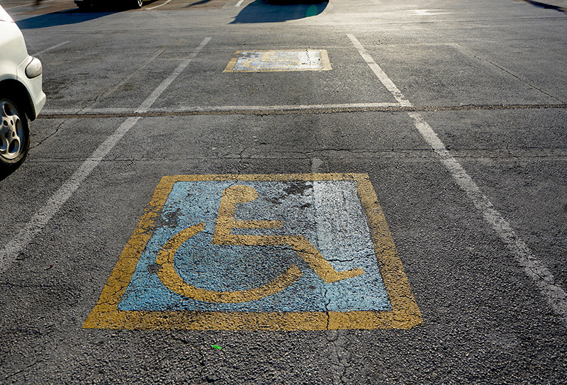 Disabled Parking Bay Bermuda March 2021