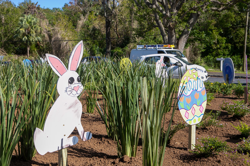 Easter Roundabout Displays Bermuda March 2021 (8)