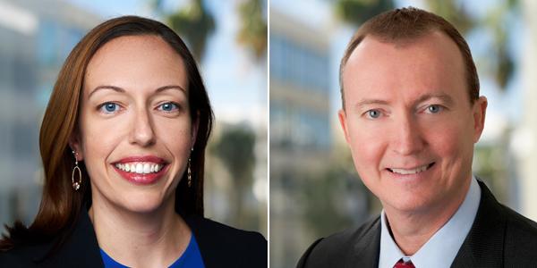 Elizabeth Cava and John Johnston Bermuda March 2021