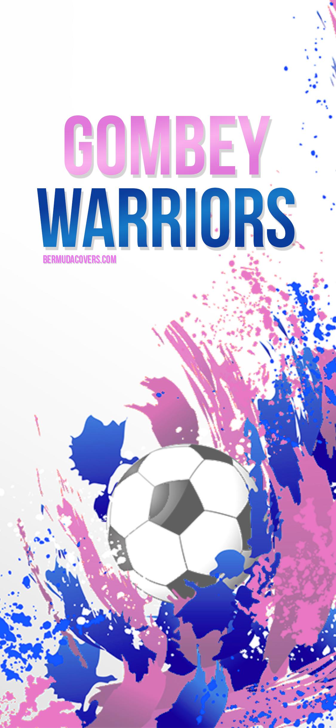 Gombey Warriors Bermuda Football Bernews Mobile Phone Wallpaper Lock Screen Design Image Photo XGRPGAM2
