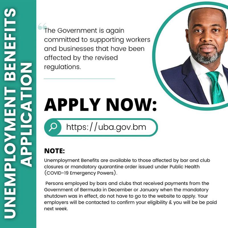 Government Renews UB Bermuda March 2021