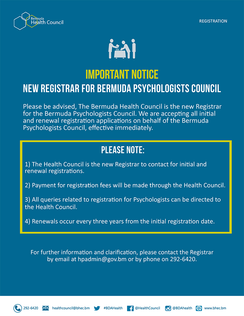 Health Council | New Health Professional Registrar